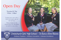 CGHS 2016 OPEN DAY