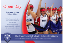 CGHS OPEN DAY 2017